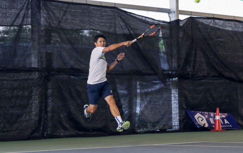 TAG Coach Jeremy Maniago Inside Out Forehand