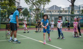 Group Tennis Lessons in Singapore by TAG International Tennis Academy