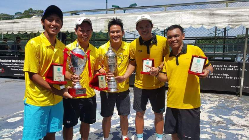 TAG International Tennis Academy Coaches Winning in Sinagpore