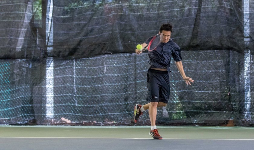 Competitive Tennis Training in Singapore. Coach X, Managing Partner, TAG International Tennis Academy