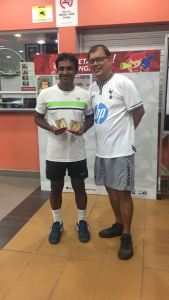 Coach Pratim, the best Indian Tennis Coach in Singapore and Singapore Open Champion
