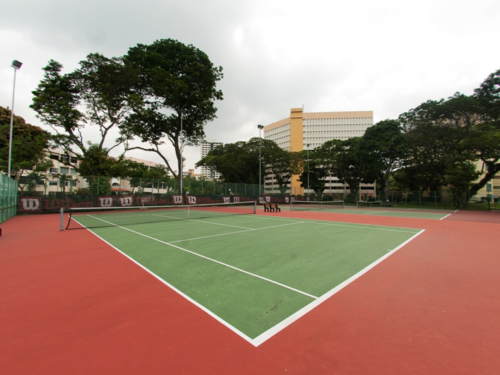 ActiveSG Farrer Park Tennis Centre - 8 Public Tennis Courts for your tennis game and your private tennis lessons in Singapore with TAG International Tennis Academy