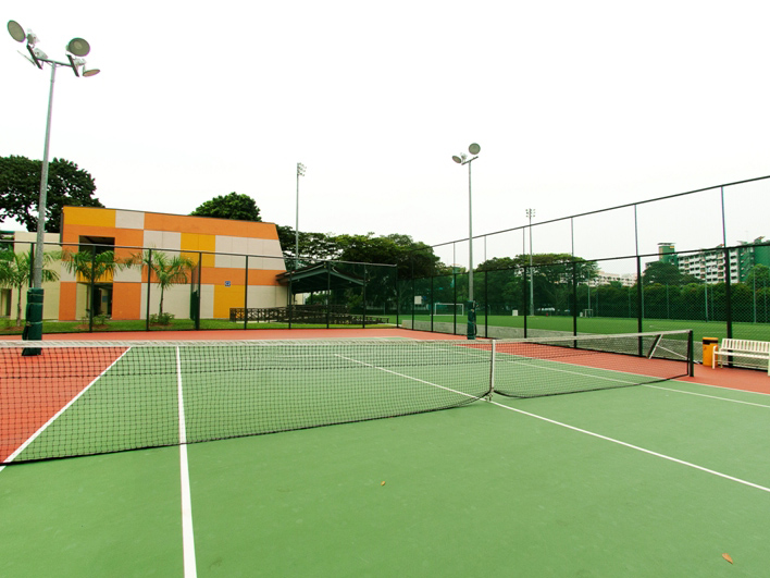ActiveSG St Wilfrid Tennis Centre - 4 Public Tennis Courts in Singapore for your tennis game or your private tennis lesson with TAG International Tennis Academy