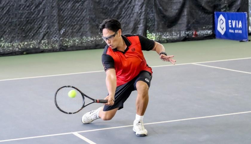 Coach Bo Alburo, ITF 35+ World #2