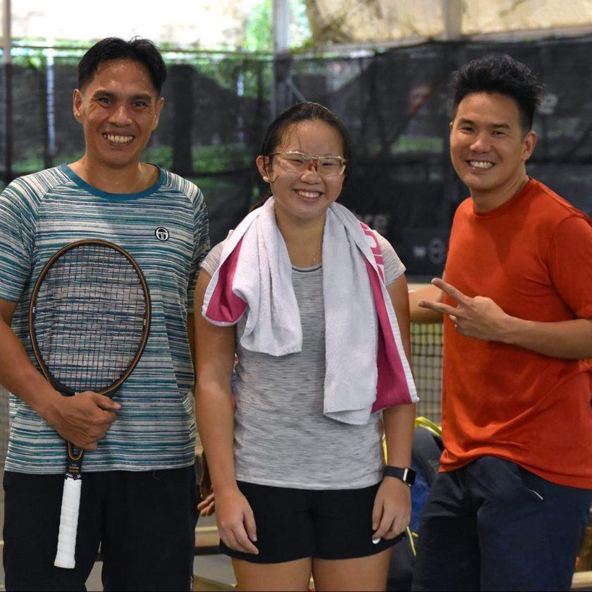 Junior Tennis Player Sarah Chan