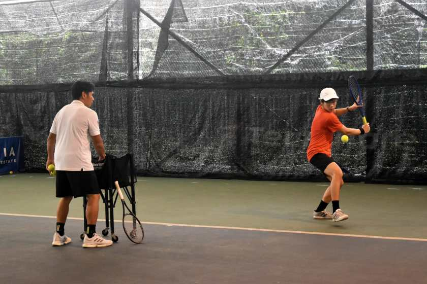 Top Competitive Junior Tennis Player Aaron Chiu