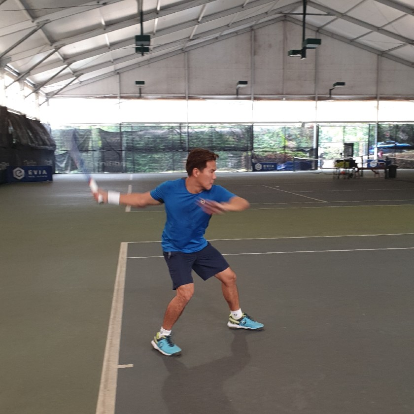 Coach xt playtesting the Wilson Pro Staff Roger Federer Laver Cup Autograph Limited Edition 2019