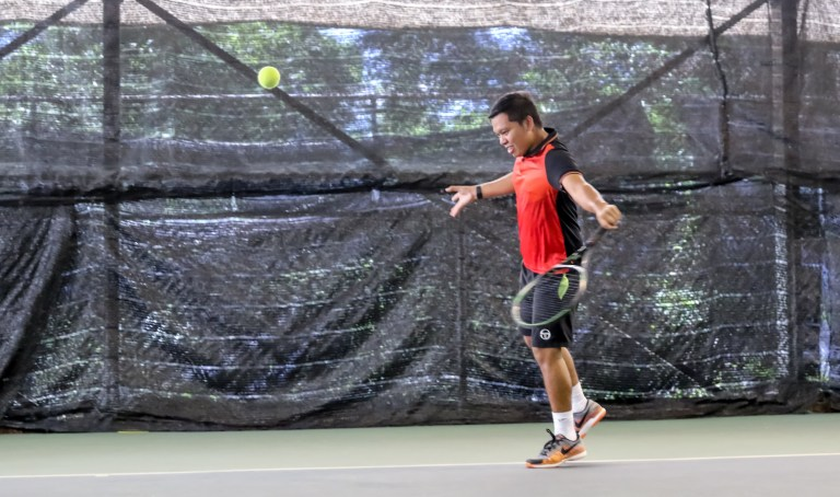 TAG Tennis Academy Coach Dave Slice the Ball