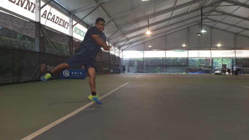 Coach Rapeepat Thonghatta of TAG International Tennis Academy