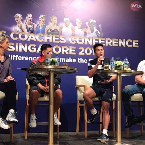 TAG国际网球学校的主教练,陈旭腾网球教练