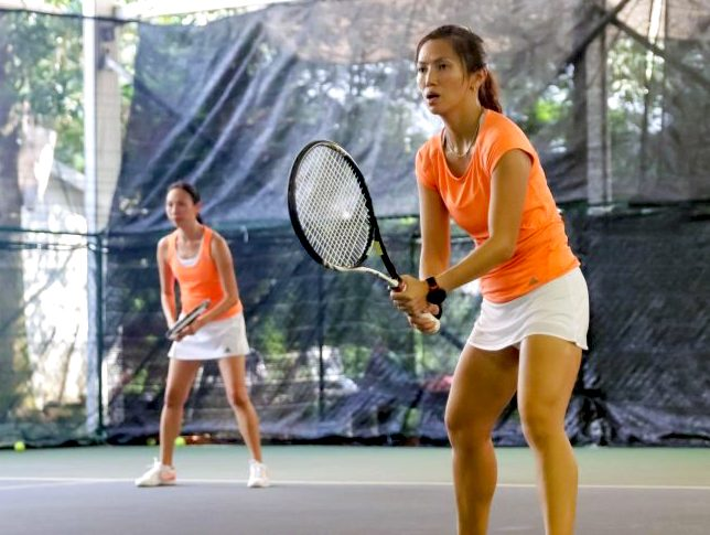 Ladies_Doubles_Tennis_Lesson_TAG Tennis Academy