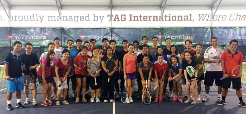 TAG Corporate Tennis Clinics
