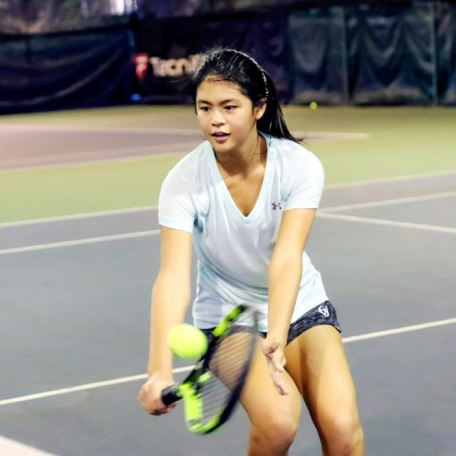 Top Singapore Tennis Players training in Singapore
