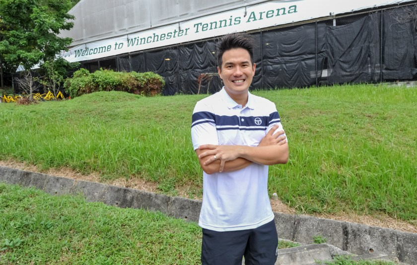 Tan Xu Teng Managing Director of TAG International Tennis Academy