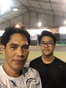 Coach Bo Alburo Lourelu Adlawan Mari coaching Bryan Leong