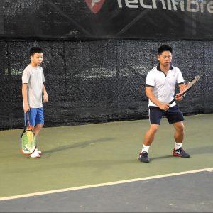 TAG International Tennis Academy, Coach Rocky with Jedd