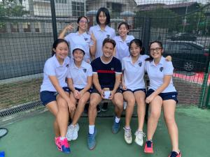 Head Coach Xt of Nanyang Girls High School