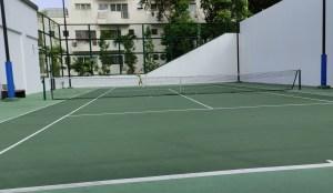 Novotel Singapore on Stevens Tennis Court TAG Tennis Lesson