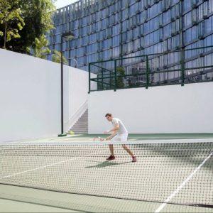 TAG Tennis Lesson Novotel Mercure at Stevens Tennis Court