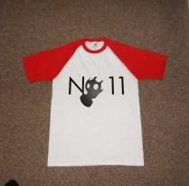 No11 Promotional t shirt