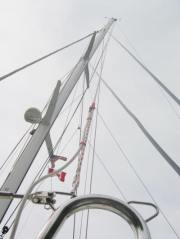 Rope Antenna for a sailboat