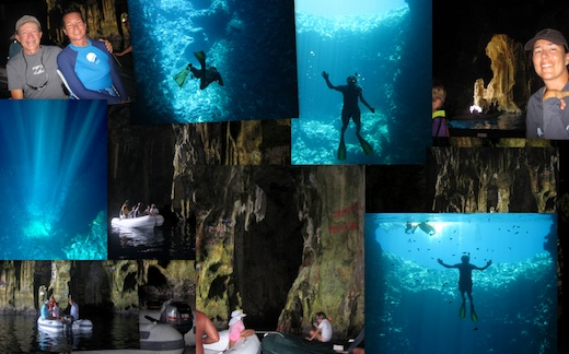 Pictures from Swallow Cave in Tonga
