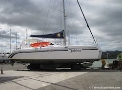 Tahina at Norsand Boatyard