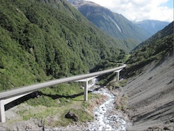 Viaduct at Arthur's Pass