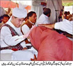 Shah_Mehmood_Qureshi_at_Urs