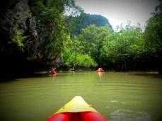 Canoeing, Phuket Islands