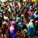 Photo Credit: Alkasim Abdulkadir. IDPs in a refugee camp in Borno, Nigeria