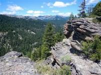 Lava rocks abound