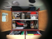 Pantry, cookware and silverware
