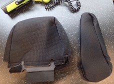 Headrest and armrest covers
