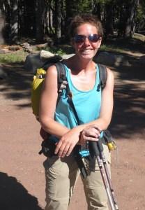 """15-German Pacific Crest Trail Thru-Hiker """"Sprinkles"""""""