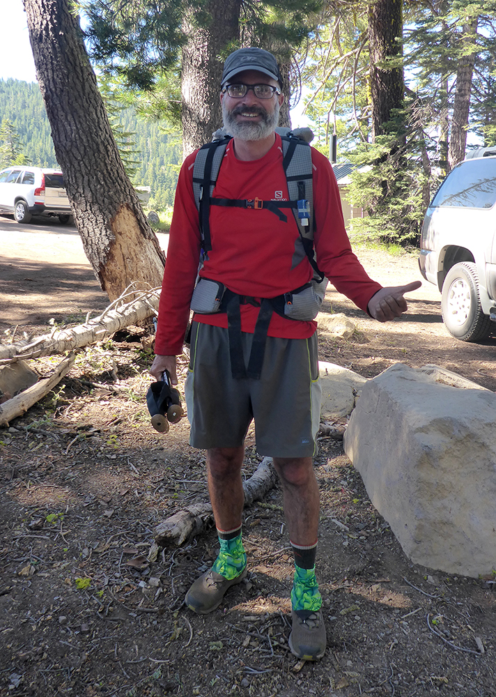"16-Oregonian Pacific Crest Trail Thru-Hiker ""Sizzler"""