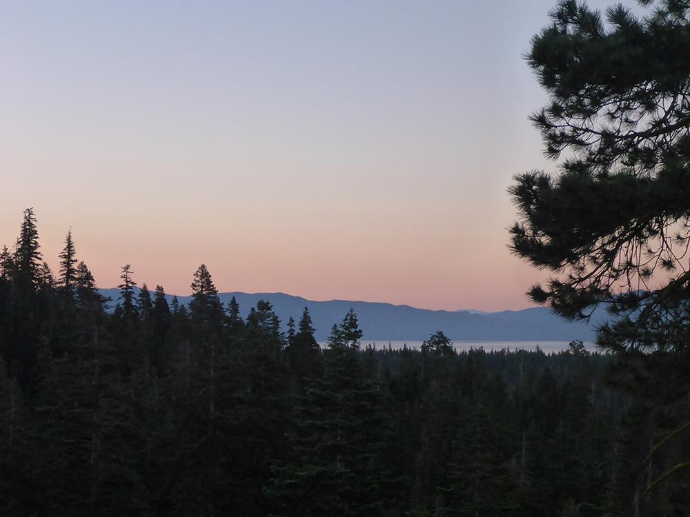 26-Lake Tahoe at Dusk