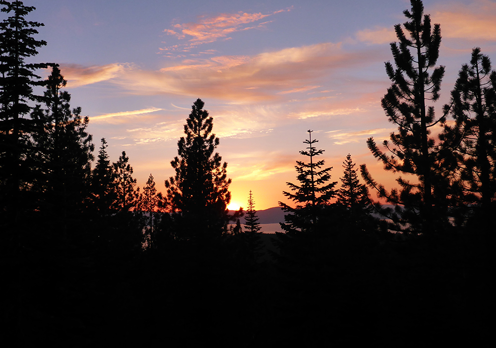 49-Sunset over Lake Tahoe