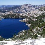 Dicks Lake as Viewed from Dicks Pass