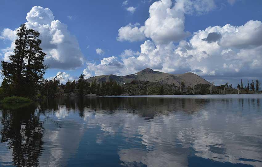 View of Red Lake Peak from Frog Lake