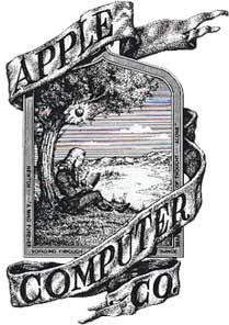 logo apple isaac newton