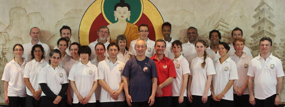 Group Photo at the Shaolin Temple UK