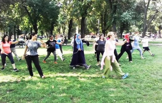 Tai Chi Workshop in Belgrade