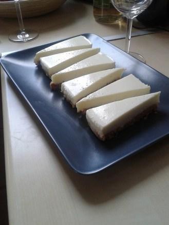 Cheesecake cu lămâie.