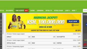 17th & 18th August Betika Mabingwa Jackpot Predictions - TaifaTips