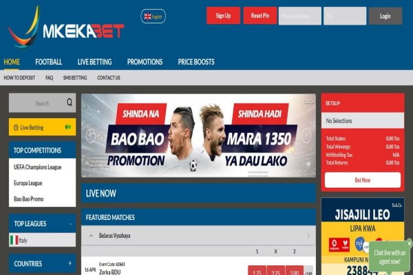MkekaBet Registration, App Download, Login, Bonus, Promotions