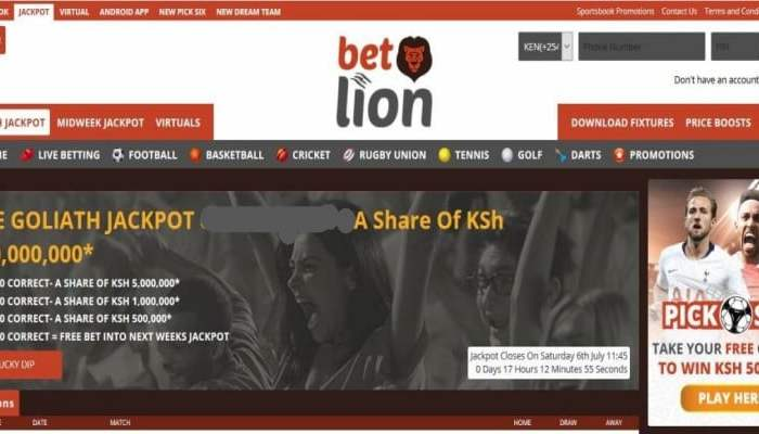 3rd & 4th August 2019    Betlion Goliath Jackpot Predictions