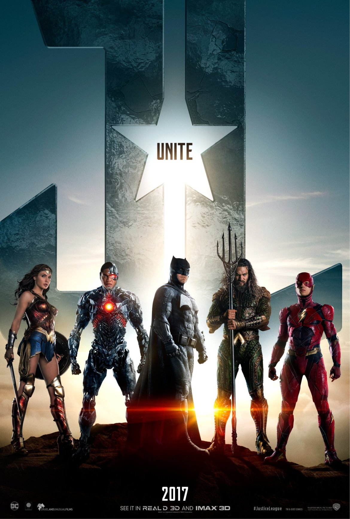 New Justice League team poster revealed (missing Superman)