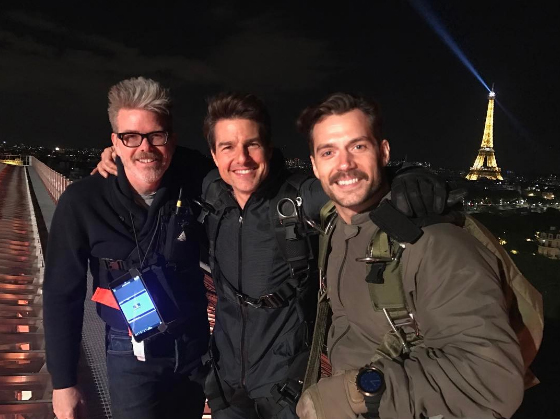 Mission: Impossible 6 set photo features Tom Cruise and Henry Cavill