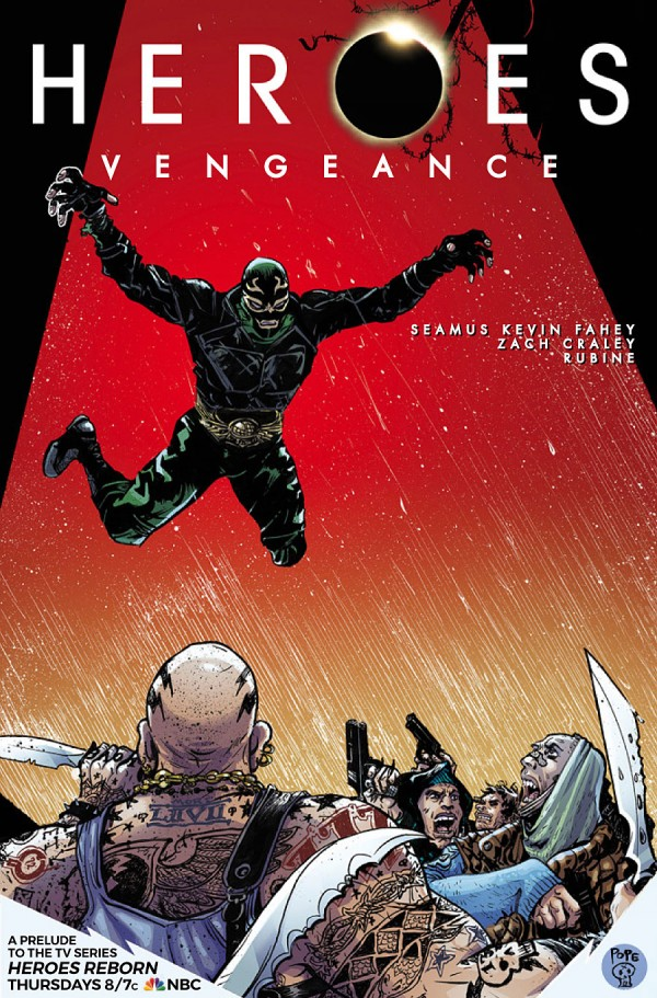 Comic Book Review – Heroes Vengeance #1